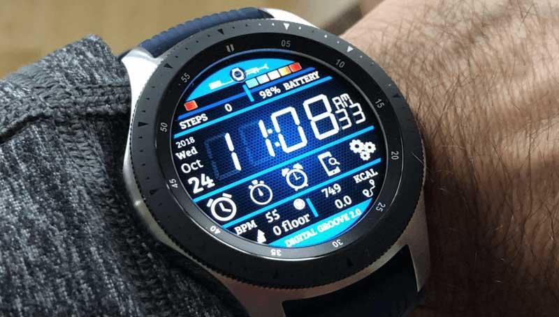 diseño galaxy watch